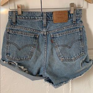 Levi's 550 Orange tab Jean Shorts -vintage!